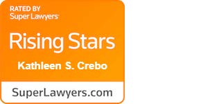 Kathleen Crebo Rising Star badge